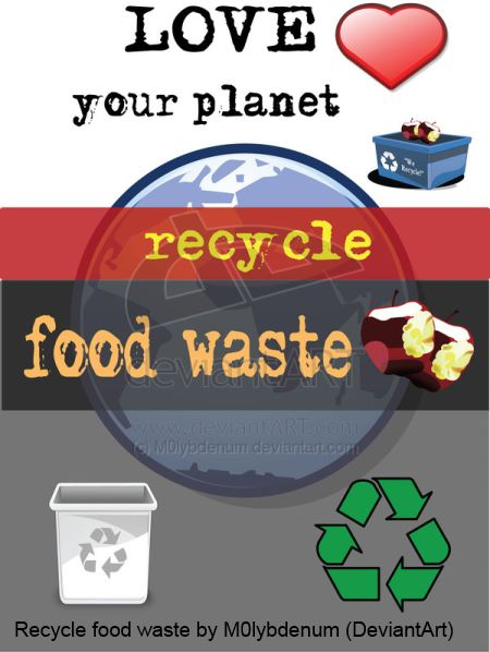 Recycle Food Waste - poster