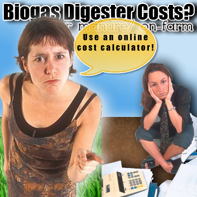 biogas digester cost
