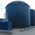A patented psychrophilic (low temperature) sequential-batch anaerobic digester installed by Revolution Energy Solutions at Lochmead Farms near Junction City, Oregon, processes manure from 750 cows into 1.5 MW of power.