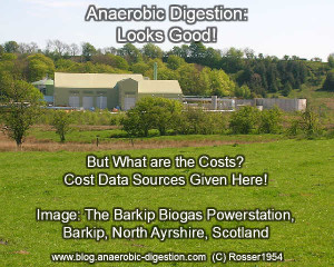 "Image is the feature image thumbnail for the articles ""Costs of Anaerobic Digestion""."