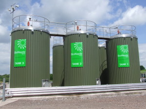 high rate anaerobic digestion (fermentation) process