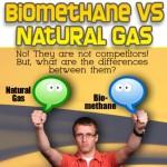 Biomethane vs natural gas