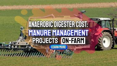"""Image text: """"Anaerobic digestion plant cost for manure management""""."""