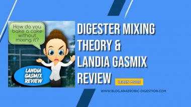 """Image shows text: """"Digester Mixing Theory Landia Gasmix Review""""."""
