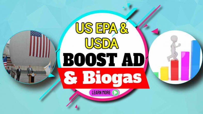 US EPA and USDA Boost AD and Biogas