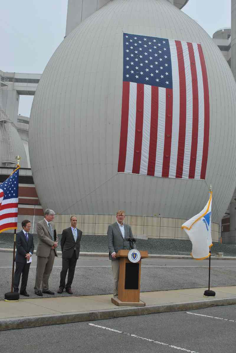 A US Biogas Plant opening event - promoting US EPA and USDA Boost Anaerobic Digestion and Biogas.