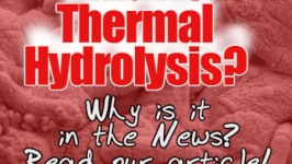 What is thermal Hydrolysis? as used in AD Plants