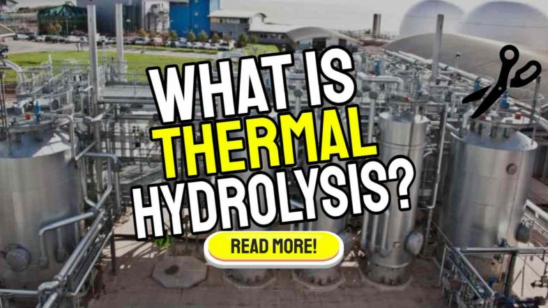What is thermal hydrolysis?