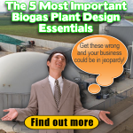 biogas essential design features