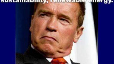 Arnold Schwarzenegger Green Energy