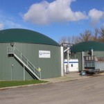 Image showing a Weltec biogas plant helping meet UK biogas energy targets