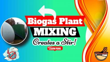"""Image text: """"Biogas Substrate Tank Mixing""""."""