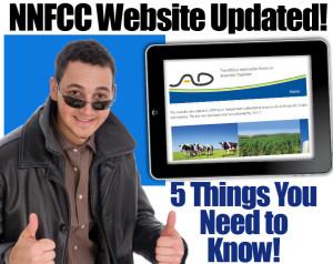 "Image promoting the NNFCC information portal update, supplying ""Biogas Information""."