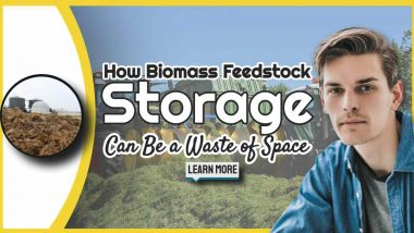 """age text: """"How Biogas Feedstock Storage Can be a Waste of Space""""."""