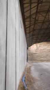 Feedstock storage from Whites Concrete
