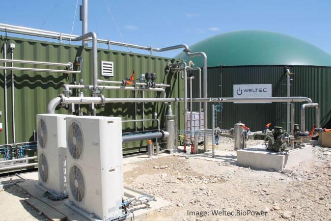 Image that shows Construction of Biomethane Upgrading Unit