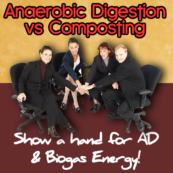 Image illustrates the benefits of Anaerobic digestion vs composting: Making a Comparison. Anaerobic digestion pros and cons.