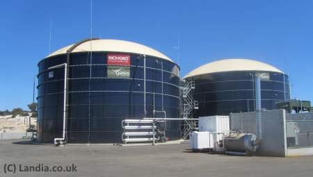 Anaerobic digestion plant Richgro
