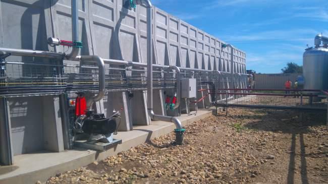 Image showing Concrete vs Steel Biogas Tanks for Anaerobic Digestion Plants precast wall units