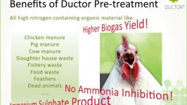 Ductor™ anaerobic digestion pre-treatment process