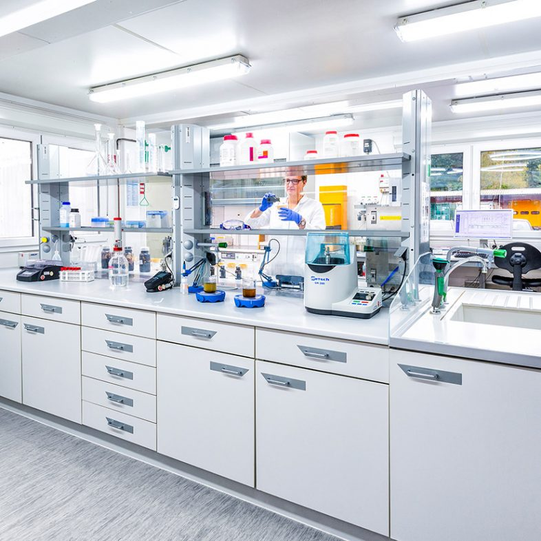 Image of teh Weltec Laboratory where the new anaerobic digestion testing takes place.