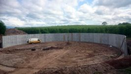 Whites Concrete new elliptical Sealwall tank