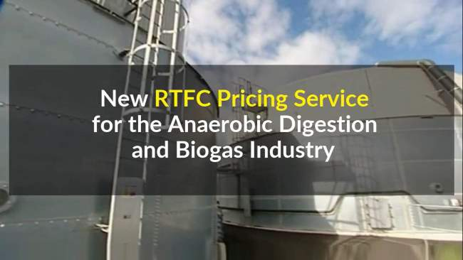 The new biofuel energy pricing service