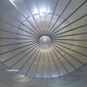 Stallkamp Self-supporting stainless steel roof