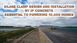 Silage clamp JP Concrete