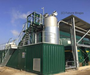 Image shows the Future Biogas Economizer SE Anaerobic Digestion feedstock pre-treatment unit.