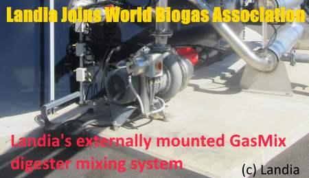 Landia joins World Biogas Association - AD Pumps