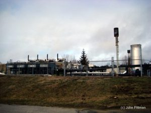 Image showing landfill gas extraction.