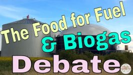 Illustration of growth in Food for Fuel debate article anaerobic digestion and biogas energy.