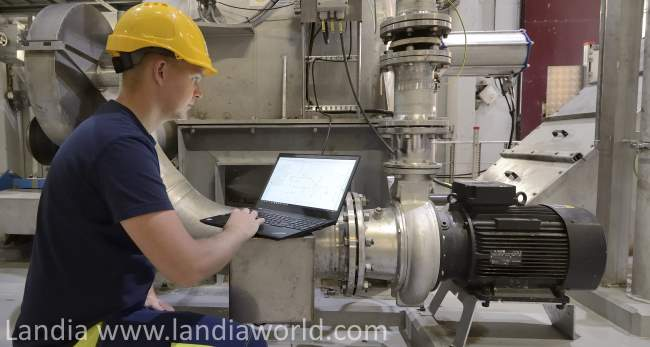 "Landia pumps image for article about ""What is Sewage sludge""."