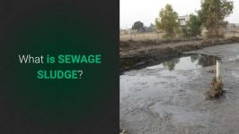 Intro page to the Sewage Sludge video.