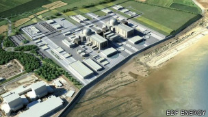 Hinckley Point Nuclear Power Station - Financed by CfDs (Contracts for Difference).