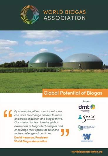 Report on the Potential of Biogas
