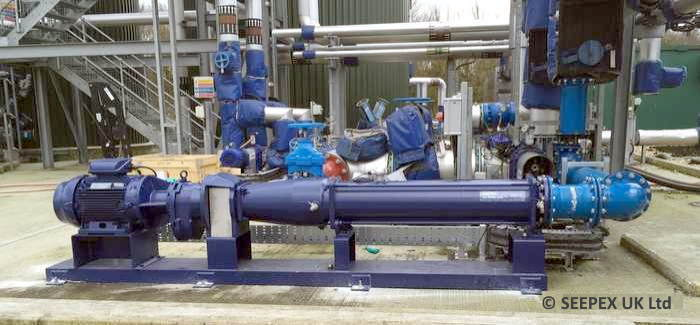 SEEPEX Progressive Cavity Pumps which provide increased biogas production rates.