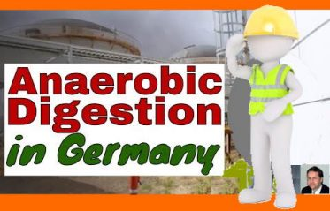 Image shows the anaerobic digestion Germany YT video thumbnail.