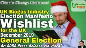 Featured image for UK anaerobic digestion and biogas industry general election manifesto wishlist.