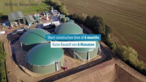 biogas plants commissioned in 2020