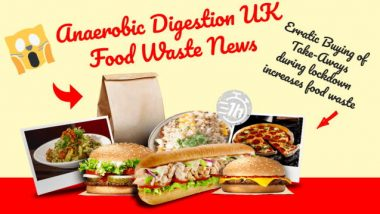 Anaerobic Digestion UK Food Waste News - featured image.