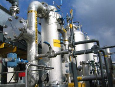 A California Biogas plant