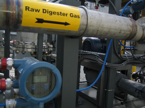 Image illustrates Biogas and the US Moving Forward Act