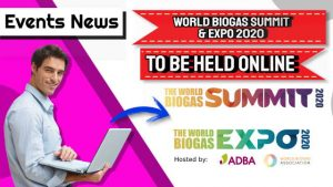 World biogas summit 2020 and expo 2020 featured image.