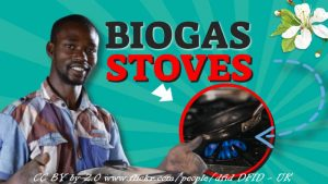 Featured image text biogas stoves