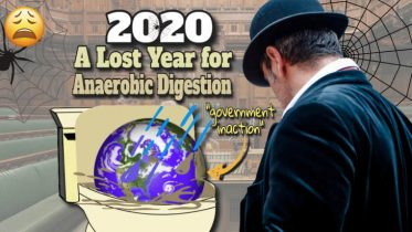 """Image with text: """"2020 anaerobic digestions lost year""""."""
