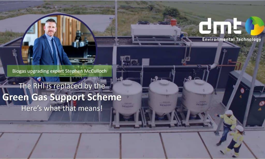 Green Gas Support Scheme (GGSS) is to replace the UK incentive known as the RHI (Renewable Heat Incentive)