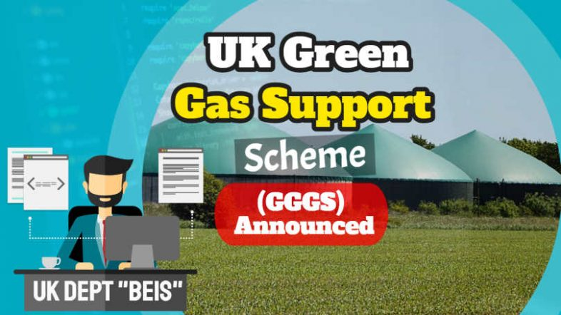 UK Green Gas Support Scheme (featured image shows digester and text).