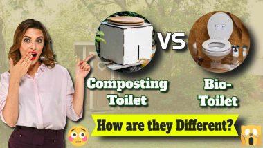 Composting Toilet vs a Biogas Toilet 1010w